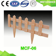 pet fence/low plastic fence/garden small fence