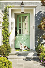 Painted Exterior Solid Wood Back Dutch Doors