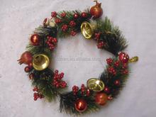 wholesale christmas wreath/garland popular fashion xmas decorations
