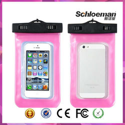 Waterproof transparent mobile cellphone bag