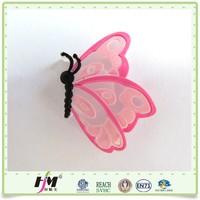 Fashion decoration pvc cartoon shoe flower
