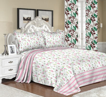 Top quality bed sheet export to America with beautiful design