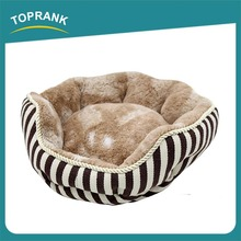 Supply Quality Wholesale Super Soft Plush Fur Fabric small dog bed