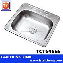 """25"""" Stainless Steel Wash Basin Kitchen Sink"""