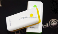 Muilt color 2 section external battery USB output 5600 mah charging for smart phones and digital devices