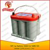 Excellent shock resistance performance 12V 50Ah Lead Acid MF Battery