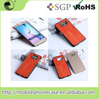 Wholesale Phone Cases stylish pu mobile phone back cover For Samsung S6