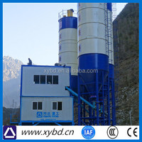 HZS 105 import high quality concrete mixing plant from China