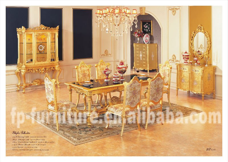 classic furniture villa furniture luxury dining room furniture dining