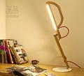 Lámpara eléctrica del sensor de toque de luz LED de lectura Escritorio luz Lámpara de mesa regulable recargable NUEVO