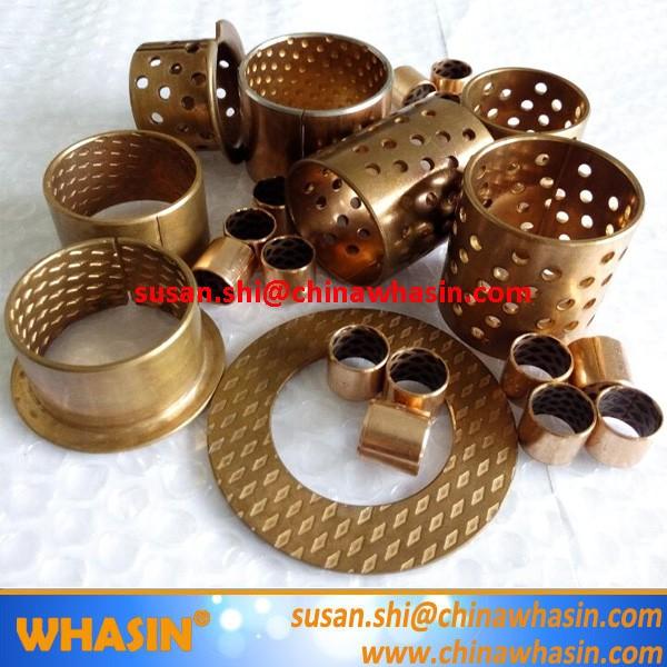 FB090 FB092 Sleeve Flange Washer Wrapped Bronze Bearing FB09G FB08G Graphite In Oil Copper Slide Bush WB802 WB800 WB700 WB702 Bronze Bushing