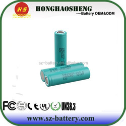 18650 Li-ion battery with 22A discharge for INR18650 20Q 2000mah 3.7V of samsung POWER tool