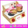 2015 New wooden kitchen set toy,popular children furniture and hot sale kitchen toy WJ276940