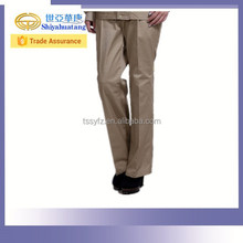 Soft work pants for carpenter stick fabric pants