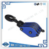 Supply China manufacture snatch wire rope pulley block with swivel hook