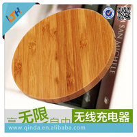 Hot selling 2015 Newest top quality wooden wireless charge base for samsung S6/S6edge with charge function