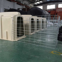 Plastic Cubicles For Dairy Farm , Cow Cubicles