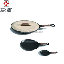 MUYAN Ceramic Cookware Bacon Grill Pan with Handles