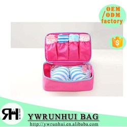 Korea Multifunctional storage Organizer woman Bra& Underwear Travel Storage Bag Size M