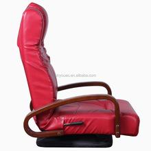 single leather swivel chair B103