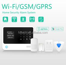 wifi GSM alarm system,RFID wireless keypad GSM MMS Intruder Alarm System,Motion Detection Infrared Sensor PIR Alarm