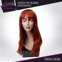 Full And Thick Custom Color Straight Brazilian Long Wig Cosplay