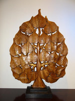 wood tree sculpture for hotel decoration