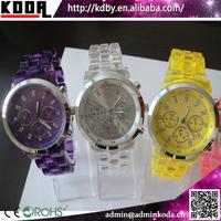 Plastic Ceramic Transparent Wrist Watch Distributors And Wholesalers
