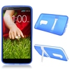 New Design Cell Phone Case Dual Color TPU Case for LG G2 with Stand Holder