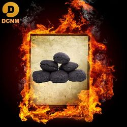 lump pillow coal for barbeque household