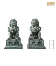 Chinese products wholesale door bronze lions