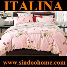 2015 european style home design single size 100% cotton cheap comforter sets S-BRD-014