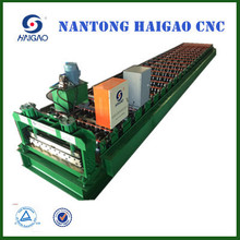 Single Layer CNC Color Steel roll forming machine /Glazed Sheet Metal Roofing Rolls Forming Machine