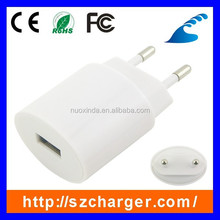universal mobile phone travel adapter with ul usb travel charger