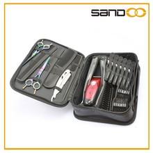 sandoo proveedor de china de la parte superior de la calidad más negro de barbero tijera bolsa