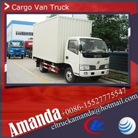 Dongfeng small cargo van truck 4 ton