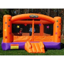 Hot sale commercial inflatable superstar bouncy castle for kids