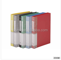 Wholesale cheap custom office A4 display book with file pocket