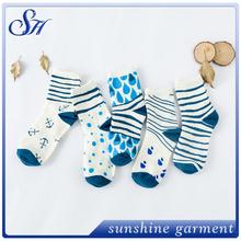 personalizzati in cotone carino colorato striscia abbigliamento per bambini calzini macchina prezzo