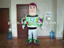 Buzz Lightyear astronauta traje de la mascota