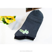 Low MOQ 60Pairs 100% Bamboo Casual Dress Socks Men High Socks Cheap Promotion