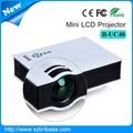 Bribase mejor mini proyector precio apoyo 800*480 pixel 1080p B-UC40 alto costo comportamiento proyector
