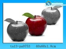 Home decoration item Canvas fruit painting Apple picture