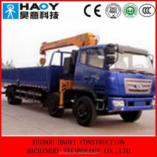 T-KING 6*2 middle-sized cargo truck,telescopic booms truck mounted crane ZB5220 for sale