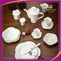 Eurohome royal elegant modern design fine porcelain dinner set