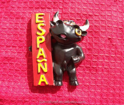 Bullfighting ESPANA resin 3d spain fridge magnet