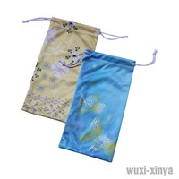 Microfiber Pouch with Artwork Printing, Suitable for Mobile Phone, Eyeglasses and Sunglasses