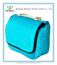Popular waterproof luxury nylon cosmetic bag set