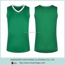 OEM blank basketball uniforms design/ custom basketball jerseys for men