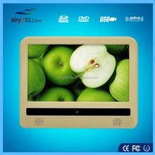 9'' headrest car stereo with touch screen for family car , touch screen car stereo for renault megane